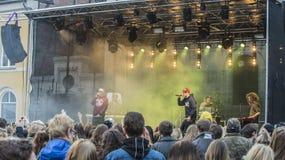 年轻文化节日哈尔登(挪威) 2015年4月15日到18日, 图库摄影