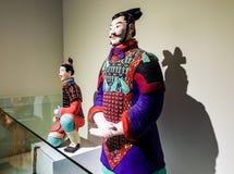文化遗产-赤土陶器战士 免版税库存照片