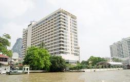 文华东方酒店旅馆,曼谷 免版税库存图片