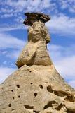 文字在石头省公园不祥之物 库存照片