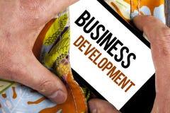 文字笔记演艺界发展 企业照片陈列开发并且实施组织成长机会命令 库存图片