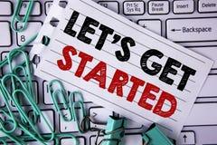 文字笔记陈列让开始 企业照片陈列的开始时间诱导行情启发鼓励写 库存照片