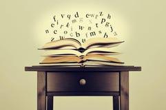 文学或知识 库存图片