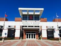 文德尔H 墨菲橄榄球中心NCSU,卡里,北卡罗来纳 免版税库存图片