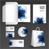 文教用品模板设计 免版税图库摄影
