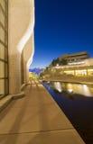 文明-蓝色小时加拿大博物馆  免版税图库摄影