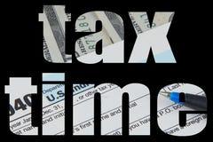 文本保险开关充满美国货币的图象 免版税库存图片