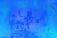 文本安置的蓝色背景 免版税图库摄影