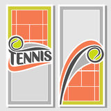 文本的背景图象关于网球 图库摄影