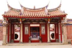 文武庙在台湾 免版税图库摄影