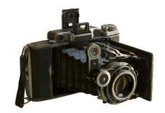 文物的照相机格式媒体 免版税库存照片