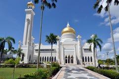 文莱的清真寺 免版税库存照片