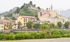 文蒂米利亚,意大利 免版税库存图片