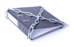 文件保密 库存照片
