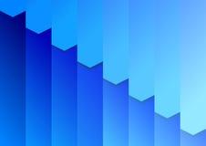文件夹在蓝色的背景模板 库存图片