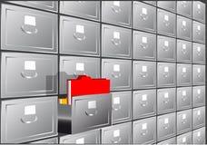 文件夹查寻 向量例证