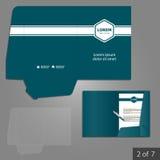 文件夹模板设计 库存照片