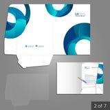 文件夹模板设计 库存图片