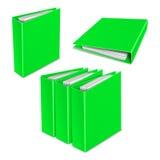 文件夹颜色传染媒介象 免版税库存照片