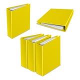 文件夹颜色传染媒介象 库存照片
