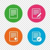 文件象 加载文件和复选框 库存例证