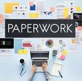 文件销售方针企业概念 图库摄影