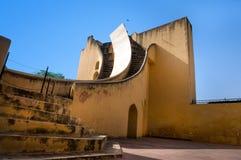 斋浦尔,印度, Jantar Mantar,观测所 免版税库存照片