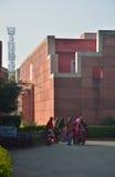 斋浦尔,印度- 2014年12月31日:印地安人参观Jawahar钾 库存图片