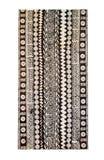 斐济传统文化-塔帕纤维布布料 库存照片