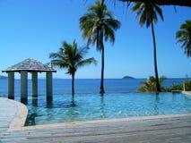 斐济岛mana 库存照片