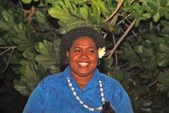 斐济,人们 库存照片
