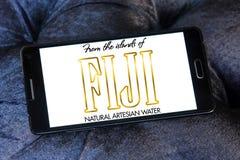 斐济水商标 库存照片