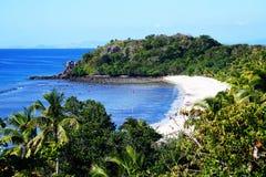 斐济Yasawa海岛梦想海滩 库存图片