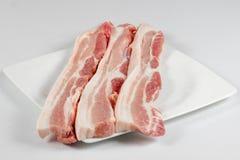 斑斑猪肉 免版税库存照片