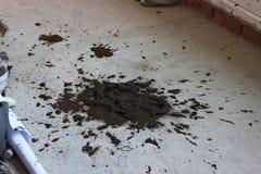 斑点水泥 免版税库存图片