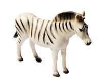 斑马玩具 免版税库存图片