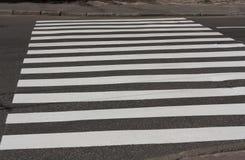 斑马线交通步行方式路 库存图片