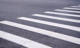 斑马线的白色条纹 免版税图库摄影
