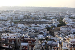 斗牛圆环,塞维利亚,西班牙 免版税库存图片