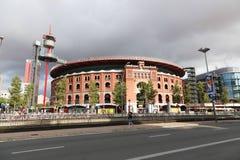 斗牛场竞技场-巴塞罗那 免版税库存照片