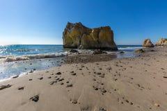 斗牛士海滩--马利布加利福尼亚 免版税库存照片