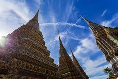 斜倚的菩萨的寺庙 免版税库存图片