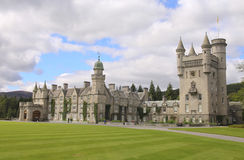 斜纹呢衬城堡苏格兰 免版税库存图片