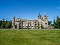 斜纹呢衬城堡苏格兰 免版税库存照片