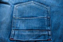斜纹布口袋背景  图库摄影