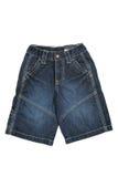 斜纹布短裤 库存照片