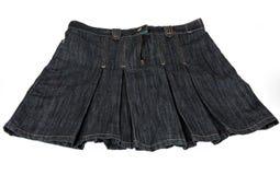 斜纹布裙子 免版税库存照片