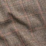 斜纹软呢夹克片段 免版税库存照片