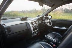 斜背式的汽车 免版税图库摄影