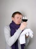 斟酒服务员 免版税图库摄影